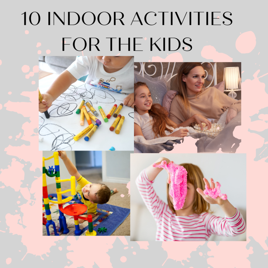 10 Indoor Activities to Keep Kids Busy While Working from Home 1