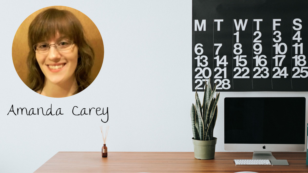 Work-from-home Mom Amanda Carey writes about working from home.